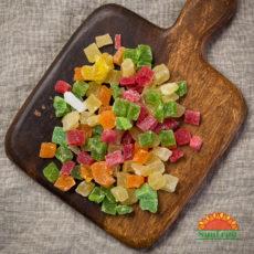 ананасовые кубики